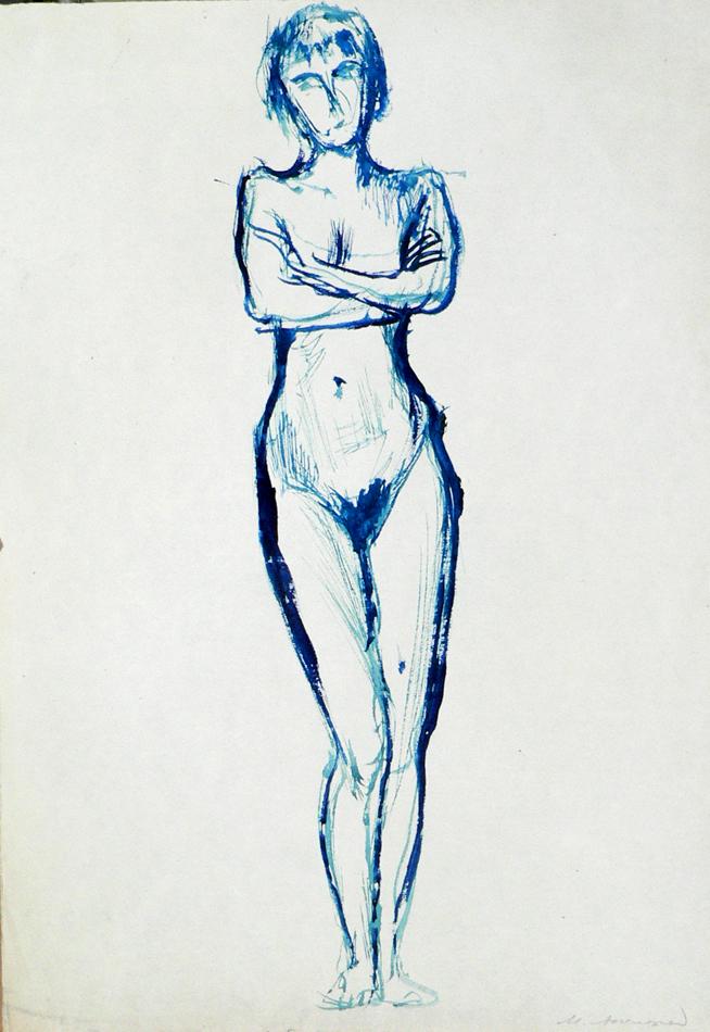 Naked female.