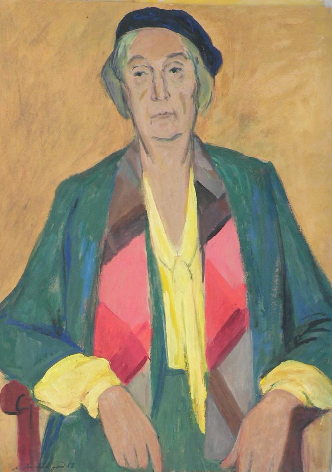 Portrait of N. Sokolova.