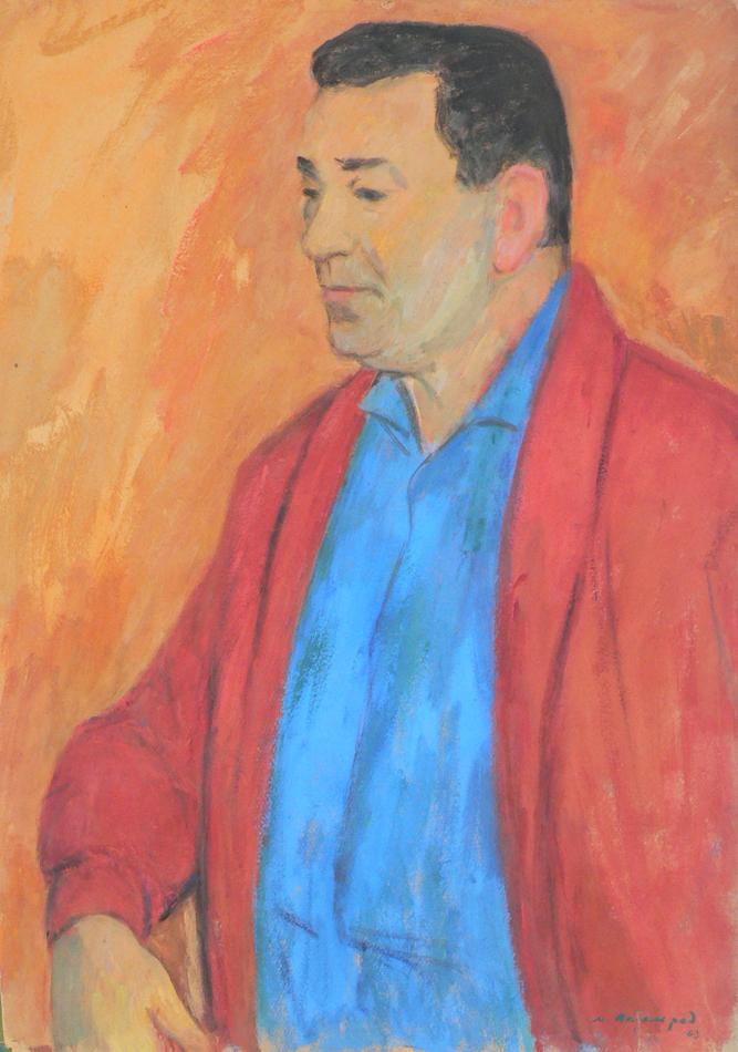 Portrait of Leonid Utesov.