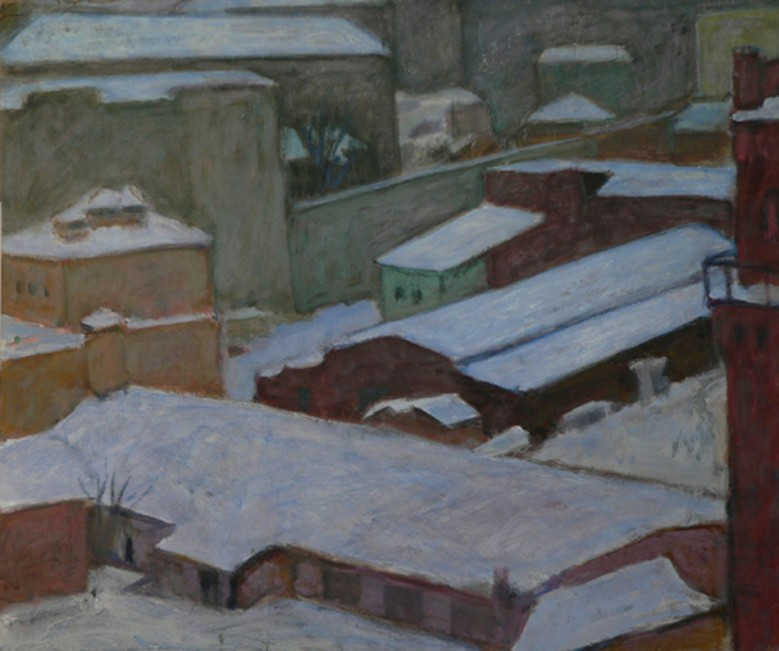 Winter roofs.