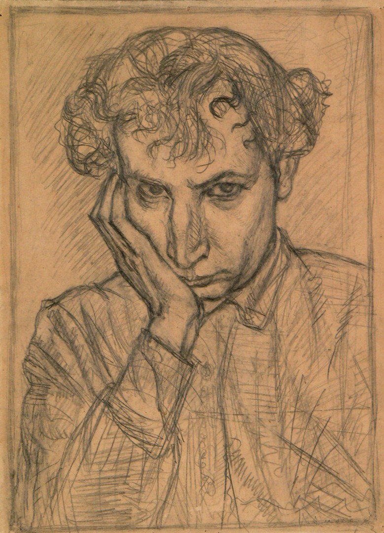 Автопортрет.1921.