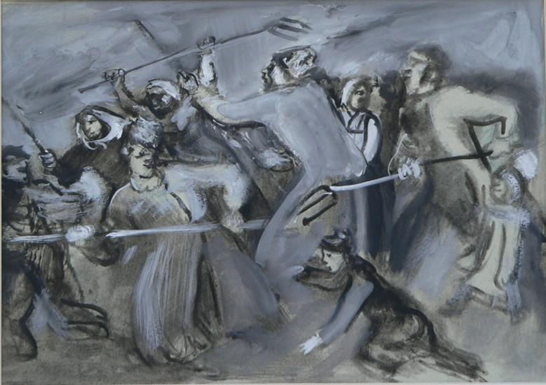Крестьянское восстание.