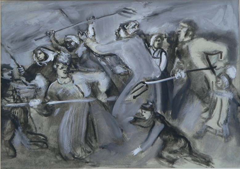 Peasant's riot.