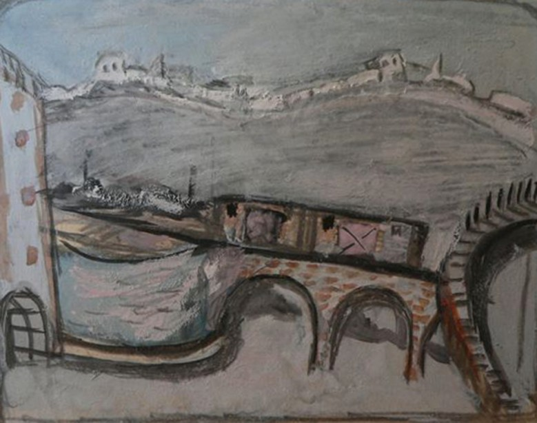 M. Daniel. Hlopchik. Study for scenery.