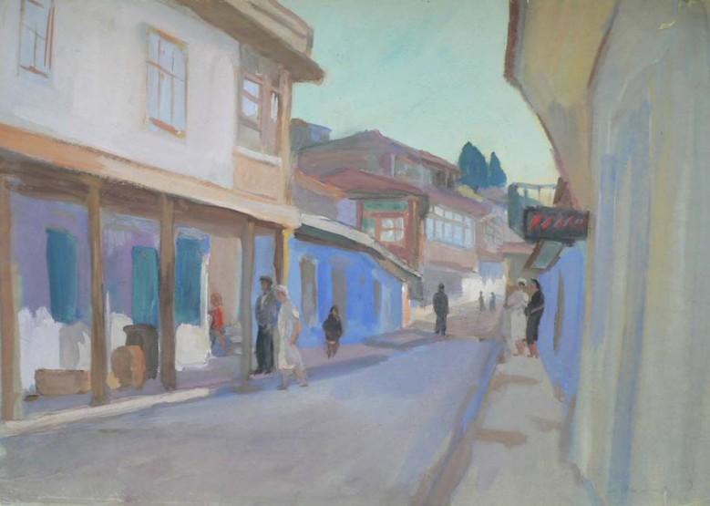 Улица в Гурзуфе.