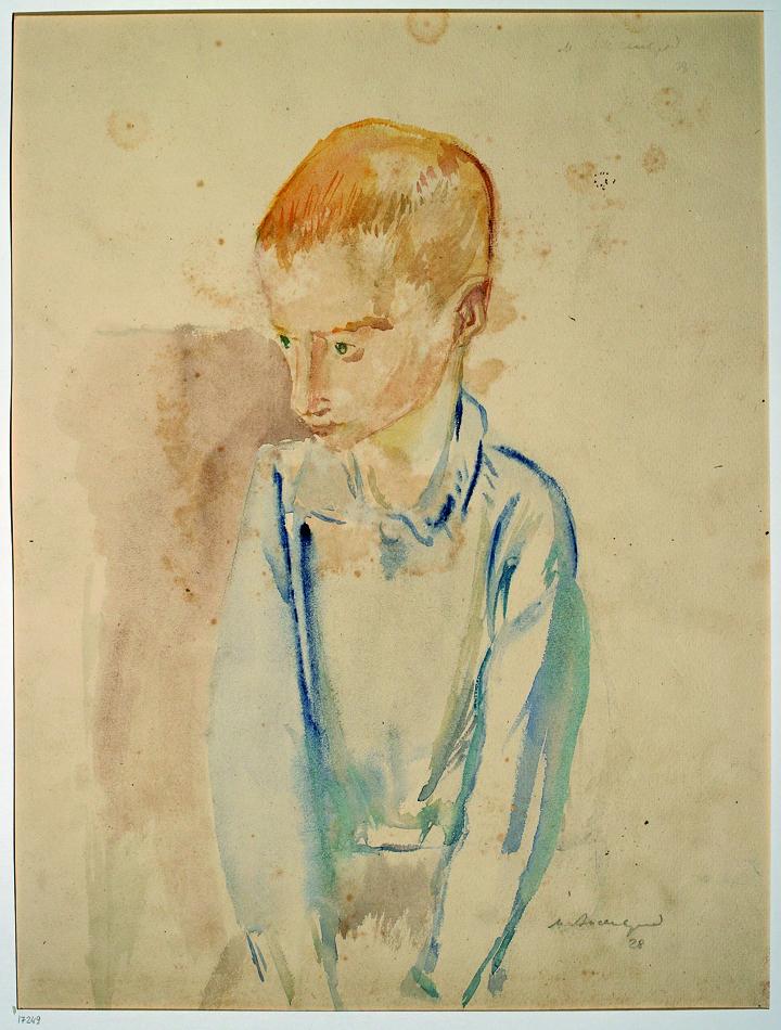 Рыжий мальчик. 1928